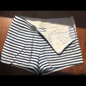 J.Crew striped shorts